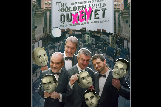 Golden Apple Quartet + Udal Musika Eskolako Banda (Los Xey-homenaje)